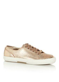 MICHAEL Michael Kors Sneaker Boerum van metallic leer