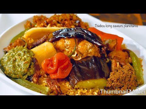 Thiebou Kong Fume A Ma Facon Youtube Recette Africaine Poisson Cuisine Africaine Cuisine Senegalaise