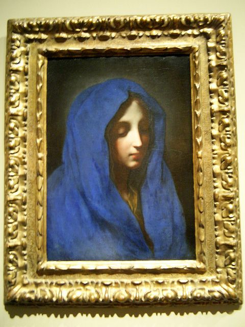 The blue madonna carlo dolci my favorite found in the for Carlo docci