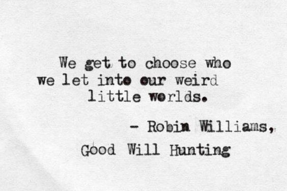 Good Will Hunting ❤️
