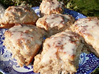 Everyday Dutch Oven: Banana Bread Scones with Brown Sugar Glaze ...