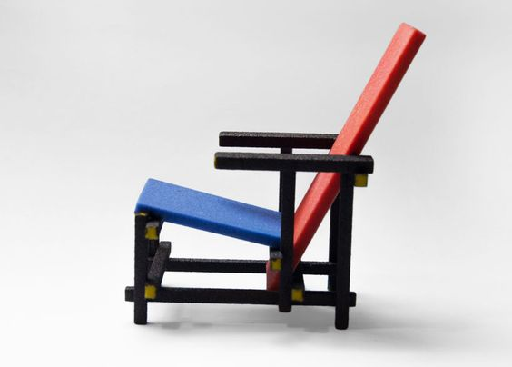 3d printed mini designer chair series by kevin spencer for Mini designer chairs