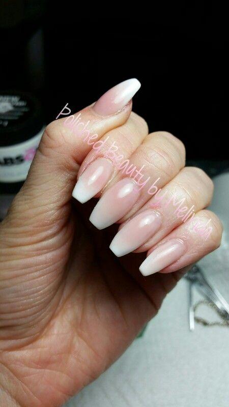 Baby Boomer Coffin Nails Or Ballerina Nails | Nailed It | Pinterest | Lange Fingernu00e4gel Baby ...