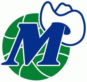 original dallas mavericks logo old school nba logos