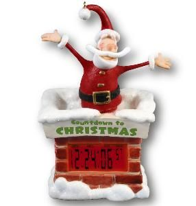 Every home needs a countdown to Christmas clock from Hallmark