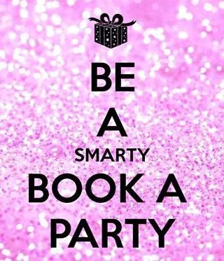 BE A SMARTY BOOK A PARTY!  All you need to do is book an online party with me. I will set up an event for you and then you invite as many people as you can to start shopping.  Win prizes, free products and half price discounts.  Who would love to start their party today? Book here today: https://www.youniqueproducts.com/tiakora/business/party