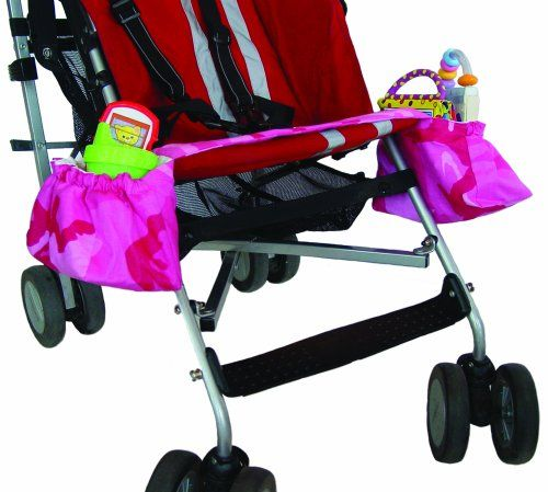 $12.09-$19.99 Baby Kiddie Kangaroo Travel Storage Accessory Stroller in Pink Camouflage - Kiddie Kangaroo Travel Storage Accessory Stroller in - Pink CamouflageThe Kiddie Kangaroo is a travel accessory designed for birth to kindergarten use on car seats, infant carriers and strollers. This soft washable design provides pockets next to the child while traveling in car seats, carriers and stroller ...