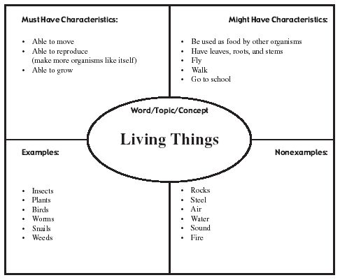 Essay on living and nonliving things