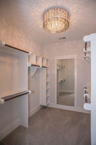 Love the idea of the mirror in the closet!