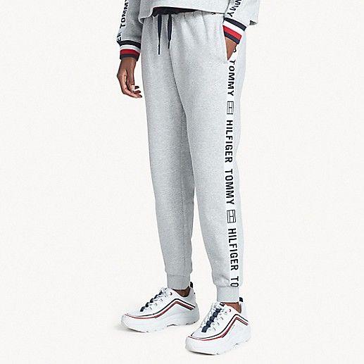 Logo Tape Jogger Tommy Hilfiger Tommy Hilfiger Pants For Women Hilfiger