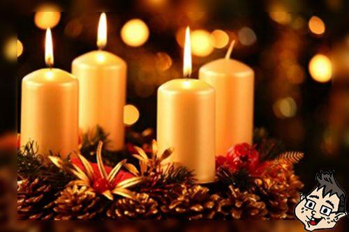 Simbolo Natal Velas De Natal Simbolos Do Natal Velas Do Advento