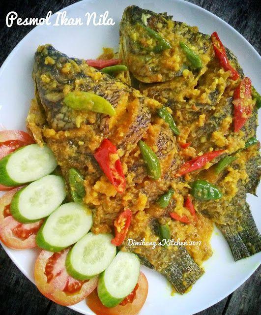 Pesmol Ikan Nila Si Adek 1 Ekor Pun Habis Sendirian Resep Spesial Resep Masakan Resep Masakan Pedas Masakan