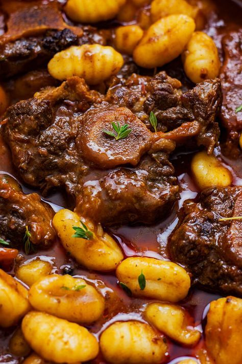 Oxtail And Gnocchi Stew