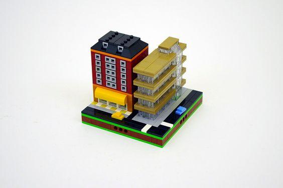 First Micropolis Modules | LEGO Microscale