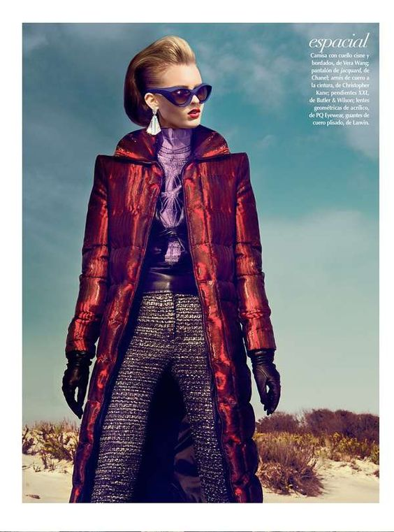 The Kevin Sinclair El Futuro Editorial Features Futuristic Ensembles #fashion trendhunter.com