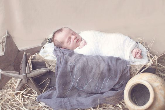And you shall find the babe wrapped in swaddling cloths ,lying in a manger... Emmanuel, God of very God,and man of very man. Thanks be to God for His indescribable gift!