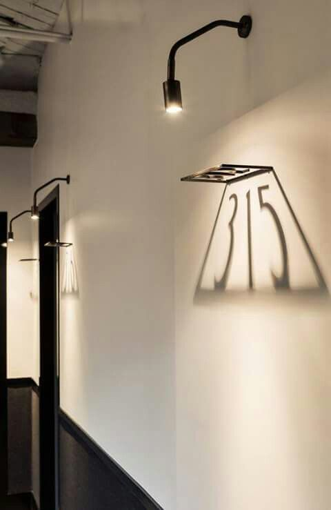 Interior Lighting Design Lighting Design Using Shadows Signage