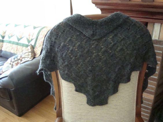 "El petit punt ""Chal de lana"""