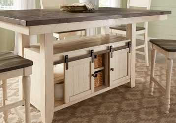 Kenbridge White Counter Height Dining Table Rooms To Go Counter Height Dining Table Counter Height Kitchen Table Diy Kitchen Table What is counter height table
