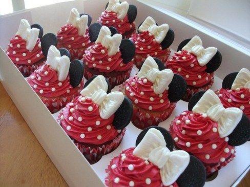 Cómo Decorar Cupcakes De Minnie Mouse Blogichef Recetas