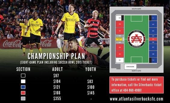 Soccer Bowl 2013 tickets are currently available for purchase, but only through an exclusive pre-sale for current Silverbacks season ticket holders OR fans who would like to purchase our new Championship Plan, which is an eight-game package that includes a Soccer Bowl ticket.