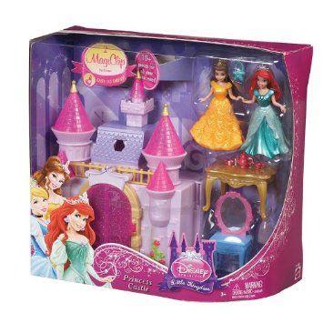 Doll Set Disney Princess And Castles On Pinterest