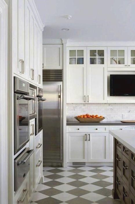 Splendid Inexpensive Kitchen Remodel Imp Source In 2020 Grey Kitchen Floor Shaker Style Kitchen Cabinets Kitchen Flooring