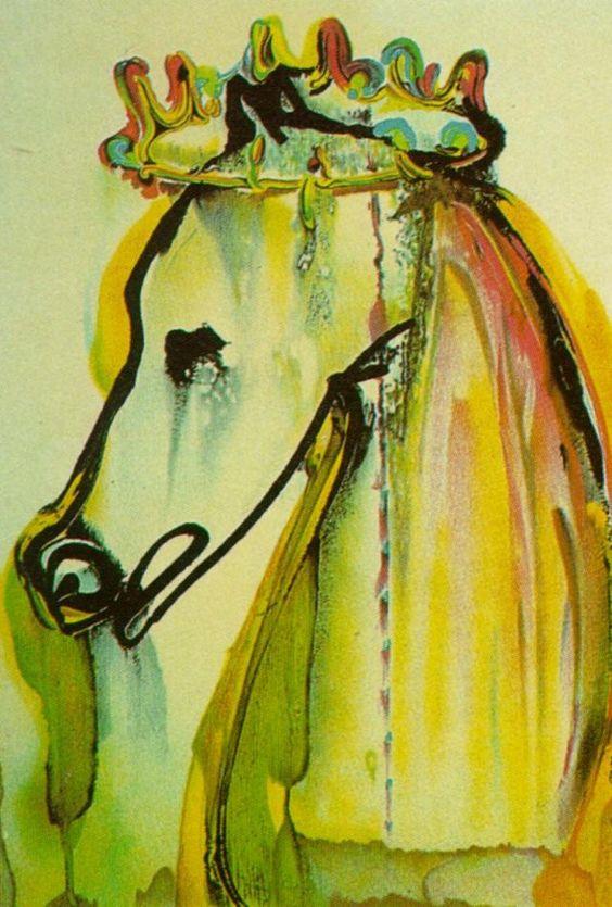 Salvador Dali, Caligula's horse