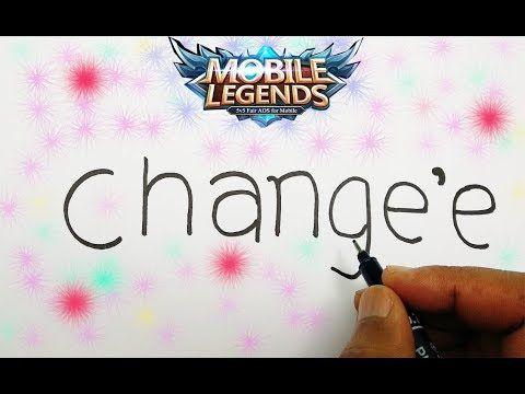 Cara Menggambar Hero Mage Mobile Legends Youtube Gambar Cara Menggambar Imut