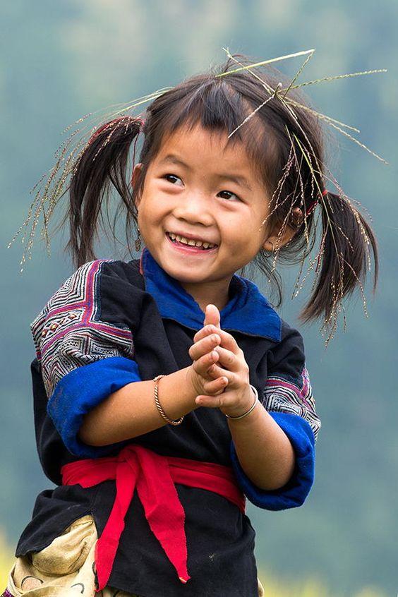 Hmong girl - Vietnam:
