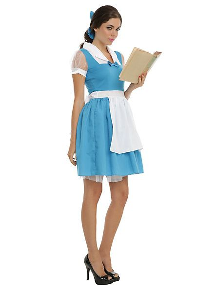 Disney Beauty And The Beast Peasant Belle 2-Piece Costume - Hot ...