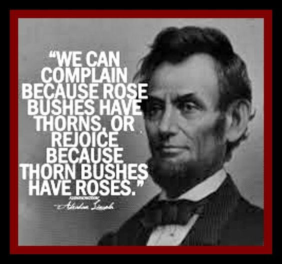 Perspective, Think Positive And Presidents Day On Pinterest