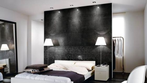 cloison tete de lit id es suite parentale pinterest assaisonnement et d co. Black Bedroom Furniture Sets. Home Design Ideas