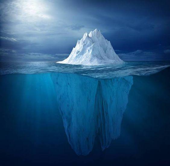 Ice Berg photographed by Chris Clor- ONE EYELAND