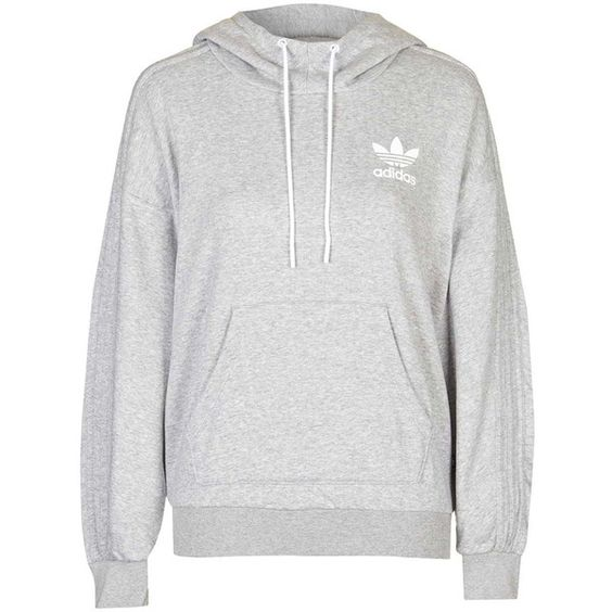 French Bulldog Hoodie by Adidas Originals (£48) ❤ liked on Polyvore featuring tops, hoodies, sweaters, outerwear, grey, adidas hoodies, sweatshirt hoodies, grey top, sports hoodie and adidas