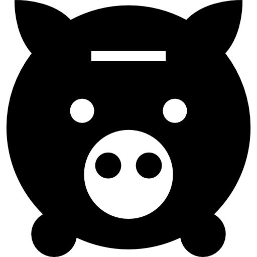 Download Money Piggy Bank Tool Frontal View For Free Animal Footprints Piggy Money Pig
