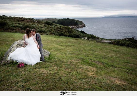 Reportage d'un mariage à Douarnenez à la Ferme de Trézulien