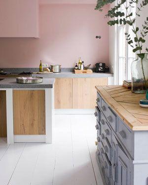Roze in de keuken zie je niet veel leuk kitchen dining pinterest nice colors and the - Roze keuken fuchsia ...