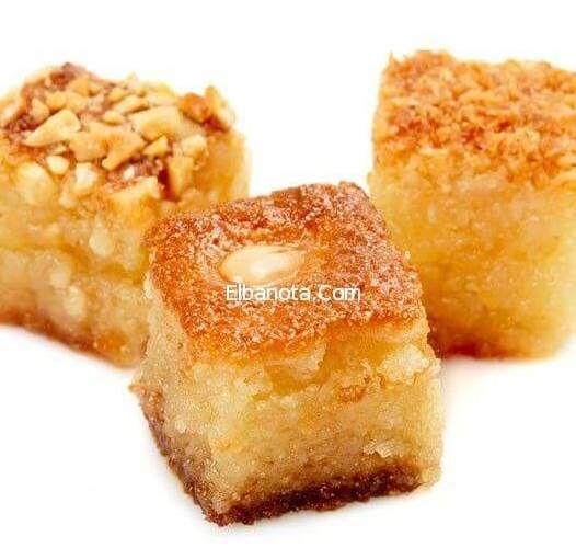 بسبوسة البرتقال اللذيذة بسبوسة البرتقال بالصور بسبوسة مصرية وصفة البسبوسة بالبرتقال والمكسرات أسهل طريقة لعمل بسبوس Cooking How Sweet Eats Ramadan Desserts