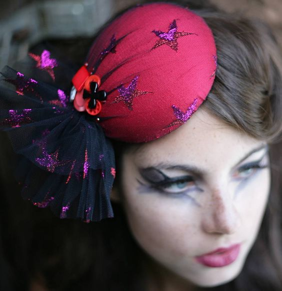 Pillbox Hat | starry eyed circus pillbox hat by the headmistress ...