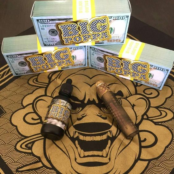 Do you even Big Poppa bruh?  Juice by @mfvapesco  Mod by @therigmod  Swag by @cks_brand  Photo by @ishymotto by vapeporn