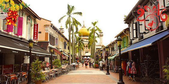 Ngã Tư Ảrập có tên là Arab Quarter nằm ở Haji Lane
