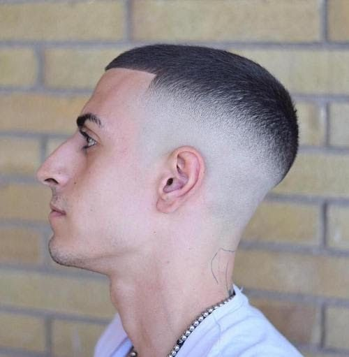 Collection High And Tight Haircut Pictures Photos Semi Bald Hairstyle 40 Skin Fade Haircuts Bald In 2020 High And Tight Haircut Mens Haircuts Short Mens Haircuts Fade