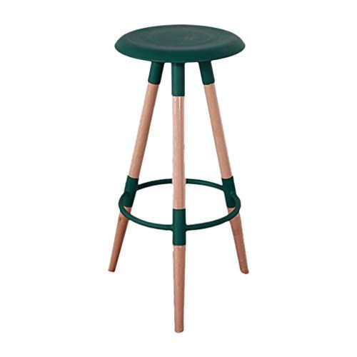 Huyp Bar Stools Chair Simple Plastic Fashion Bar Stool High Stool Bar Stools Floor Protector Bar Stools With Legs High Bar Stools Bar Stool Chairs High Stool