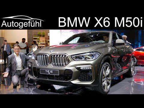 All New Bmw X6 M50i Review Exterior Interior 2020 Autogefuhl Youtube Bmw X6 Bmw New Bmw
