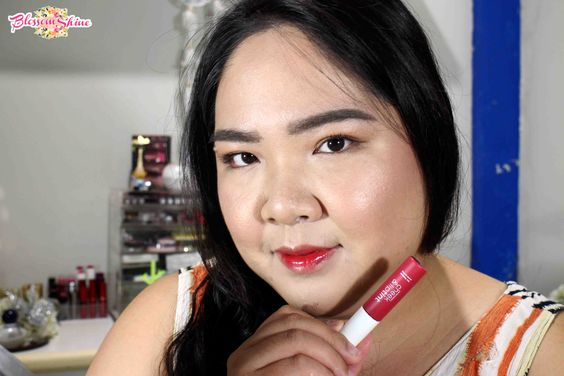 Ombre Lips - Wardah Cheek And Liptint Shade 01 - Red