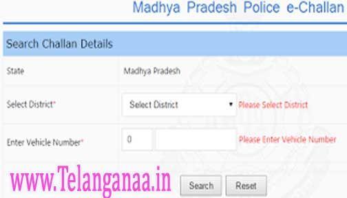 Madhya Pradesh Traffic Police E Challan Status Check And Online Payment In 2020 Traffic Police Traffic Madhya Pradesh