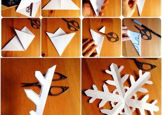 Schneeflocken Basteln 2 Anleitungen Und 40 Ideen