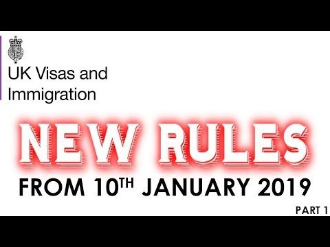 New Changes In Uk Immigration Rules 2019 Spouse Visa Work Visa