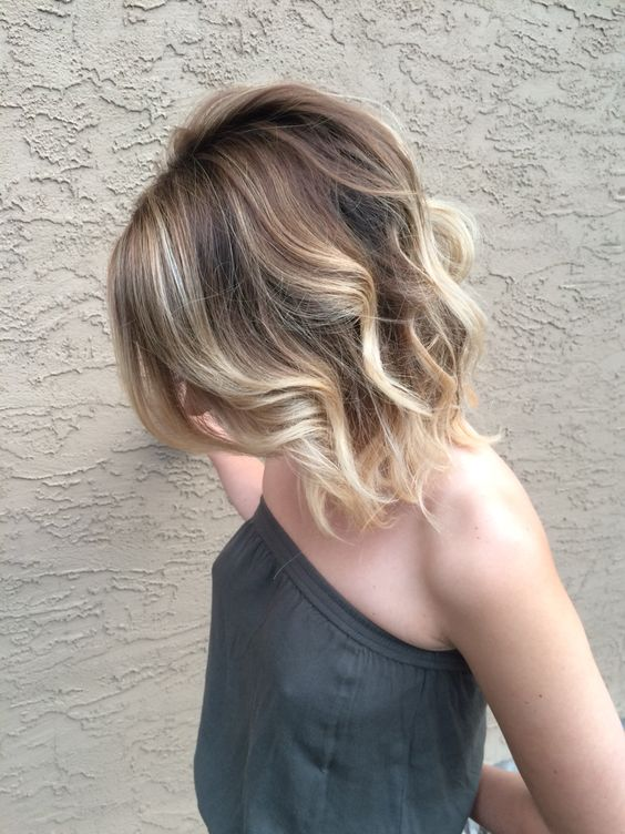 Ombre hair brown to caramel to blonde tumblr